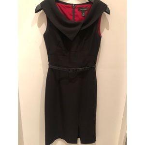 Audrey Hepburn style black dress